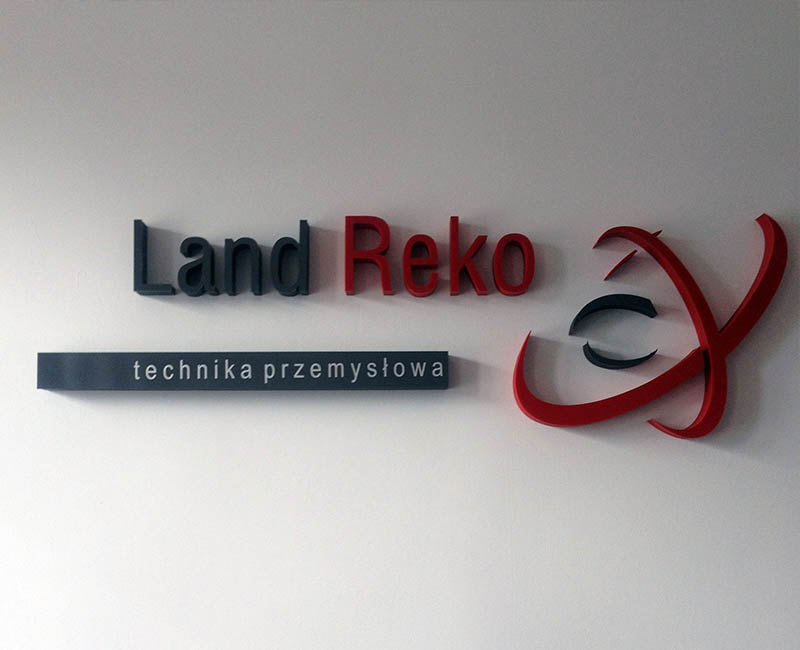 Reklama indoor - Land Reko
